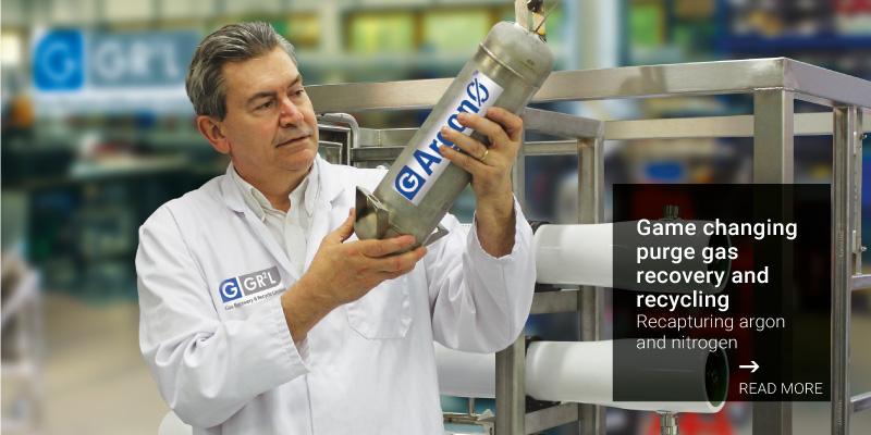 Puretech argon recycling