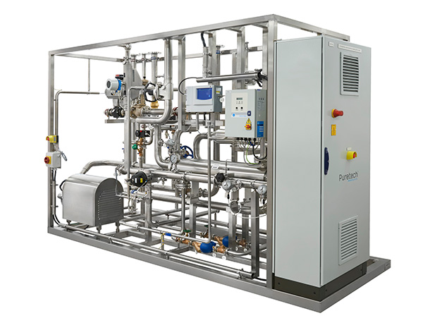 storage and distribution skid