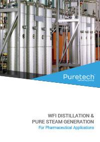 WFI distillation and pure steam brochure
