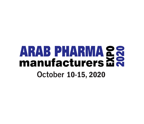 arab pharma expo 2020 logo